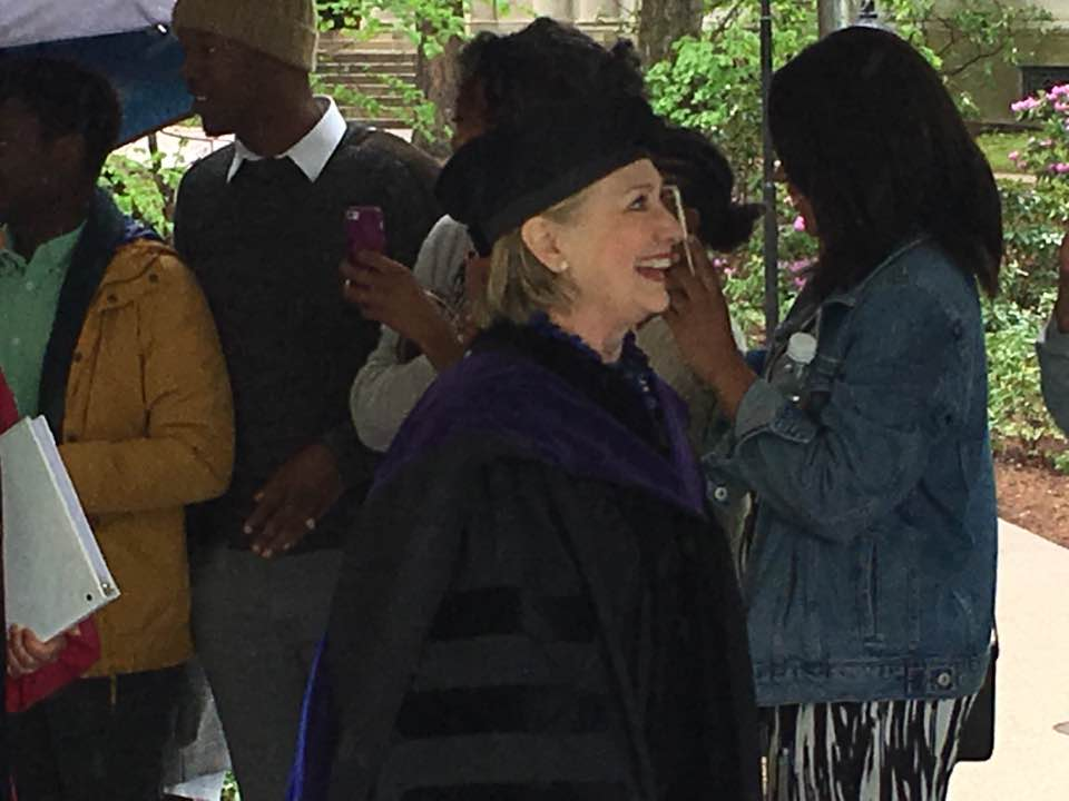 Hillary Clinton, Wellesley Commencement
