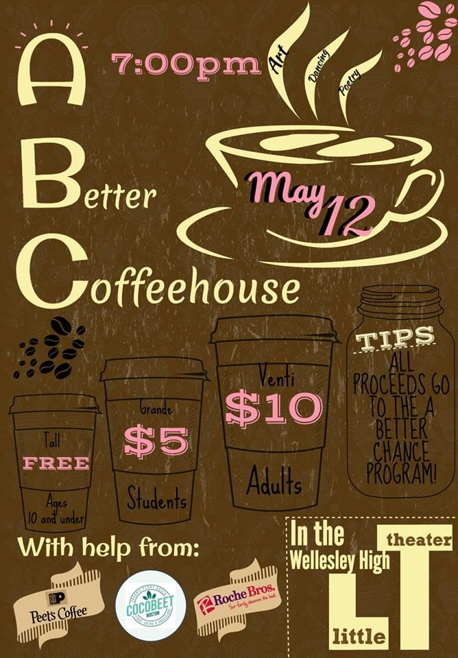 ABC fundraiser coffeehouse