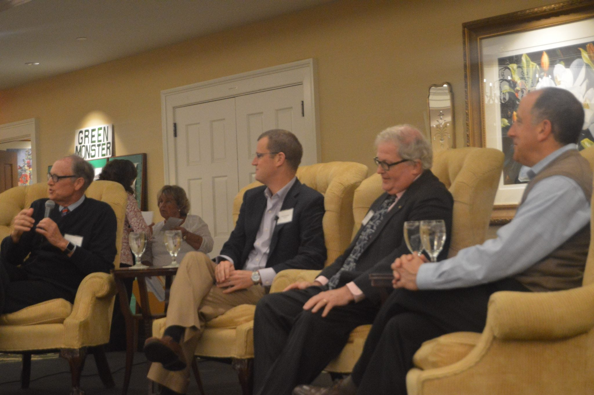 Wellesley Historical Society sports panel