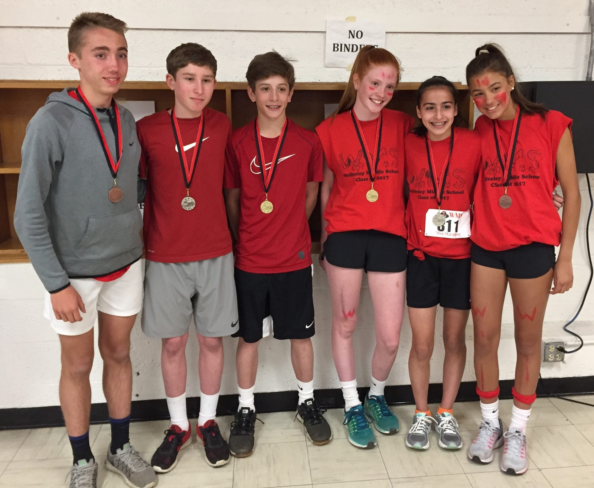 Wellesley Middle School Mini Marathon