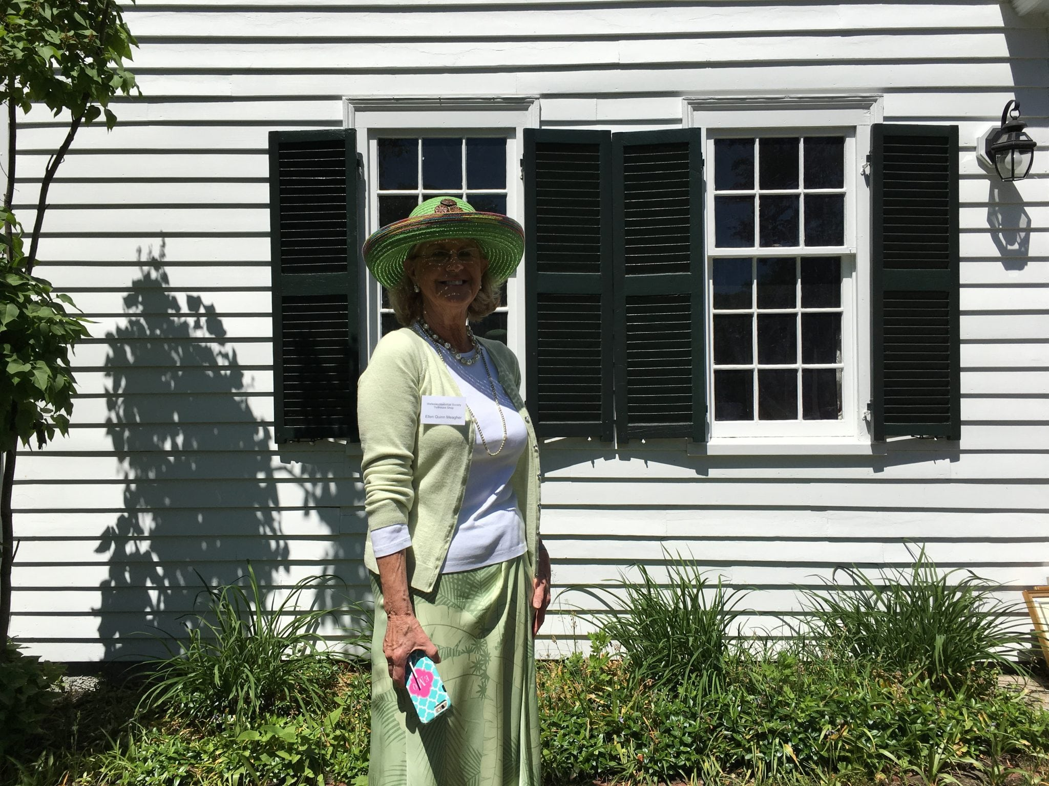 Wellesley Historical Society's Ellen Meagher