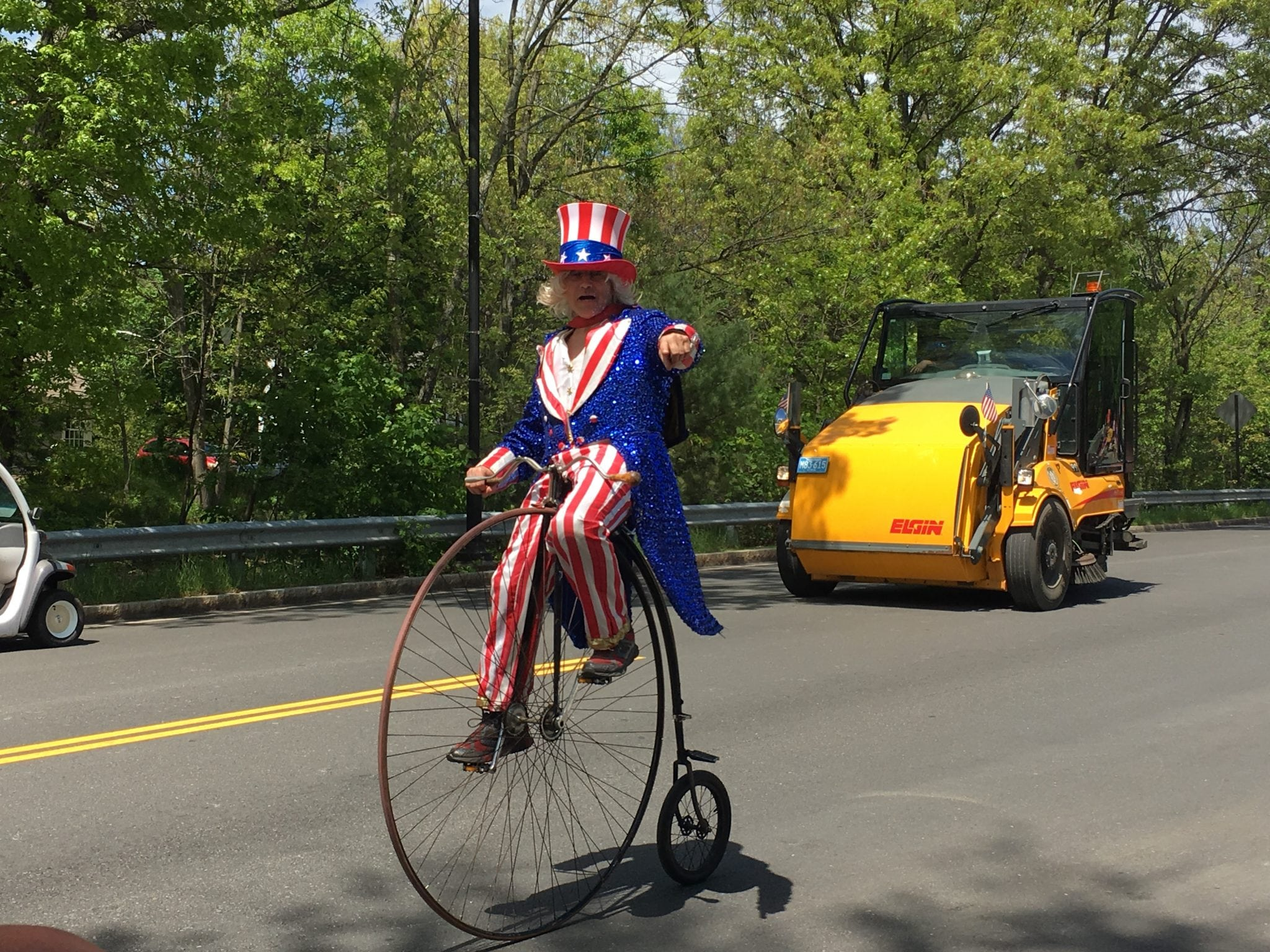 Uncle Sam, Wellesley Veterans Parade