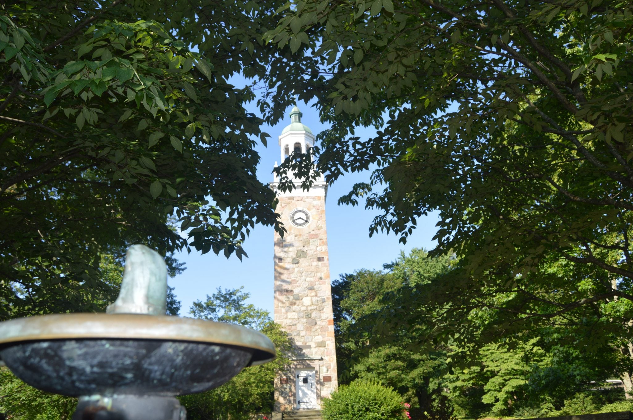 clocktower at elm park, wellesley
