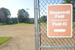 Hunnewell Field #2, softball, Wellesley