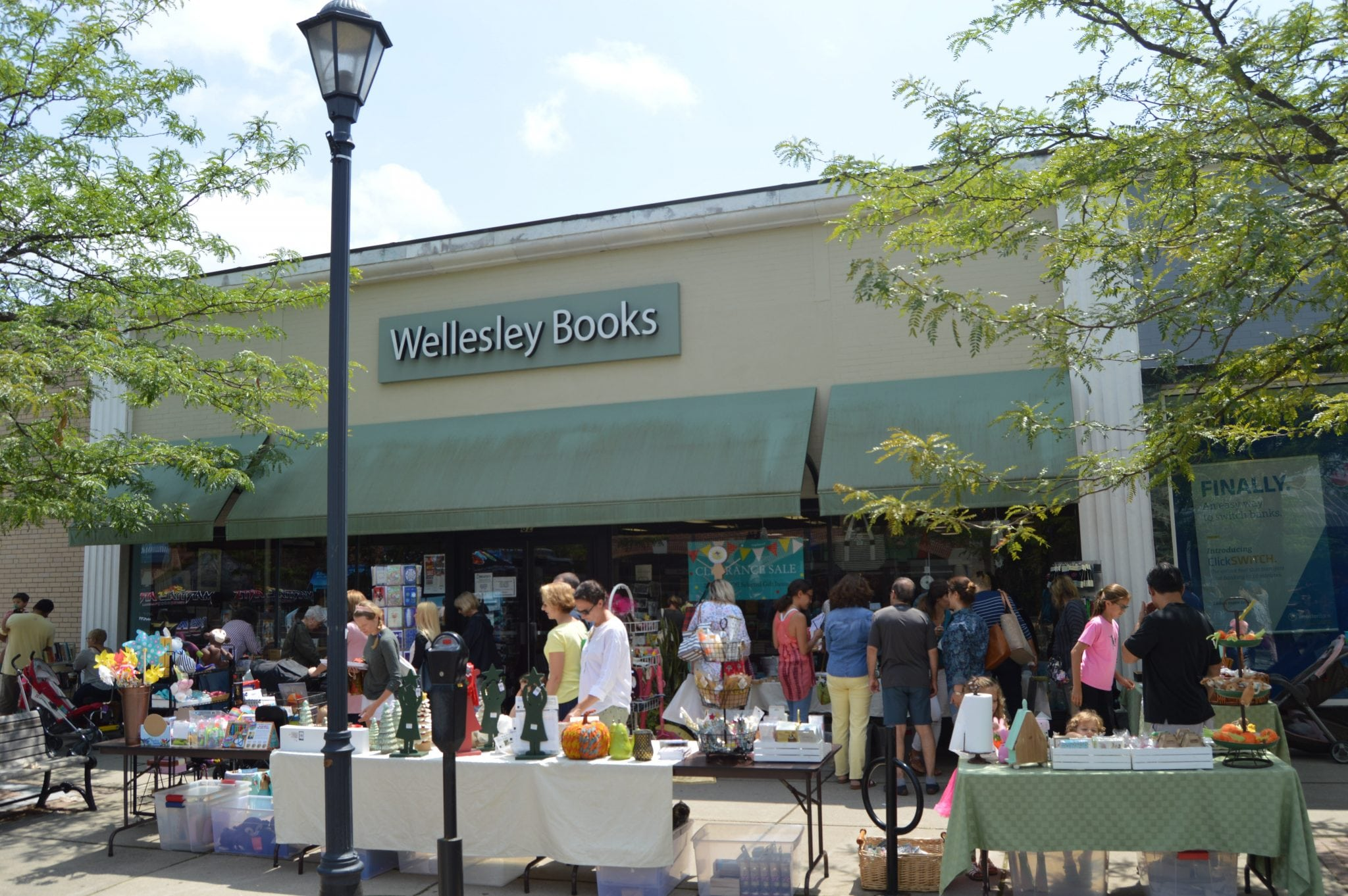 Wellesley Books, July Jubilation