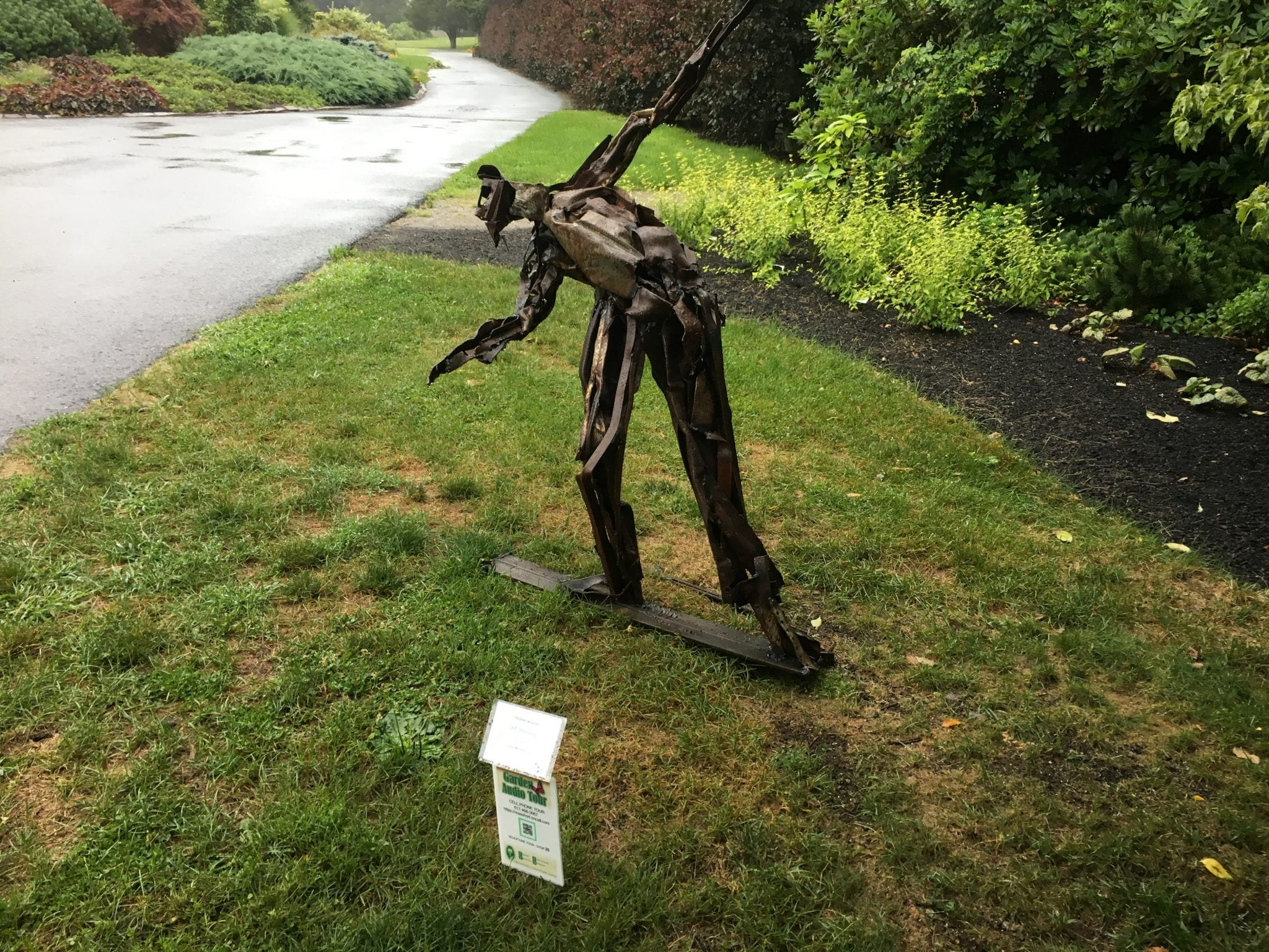 Gifts from the Garden, Elm Bank, Wellesley, sculptures