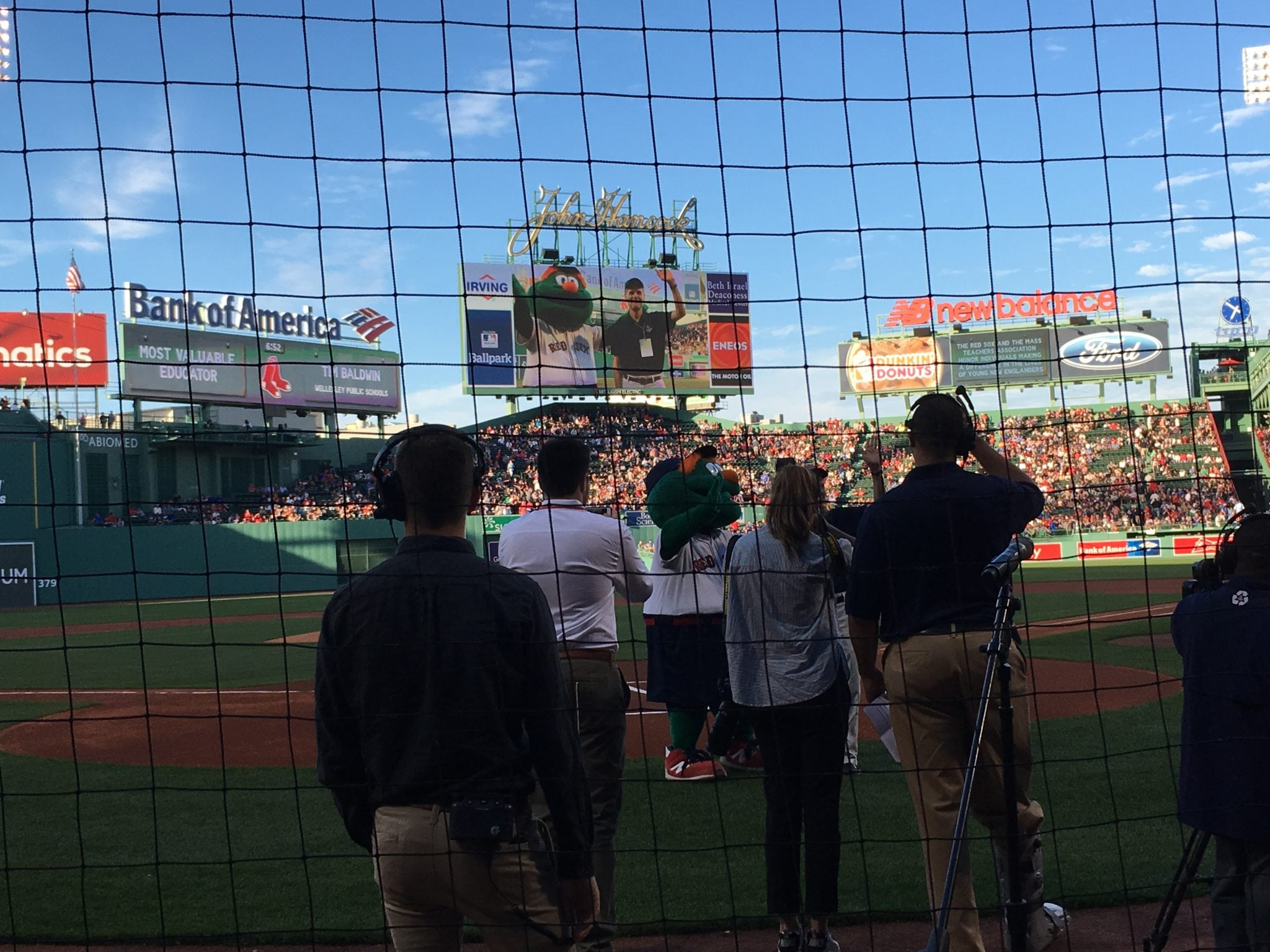 Tim Baldwin, Wellesley teacher, Fenway Park, Red Sox
