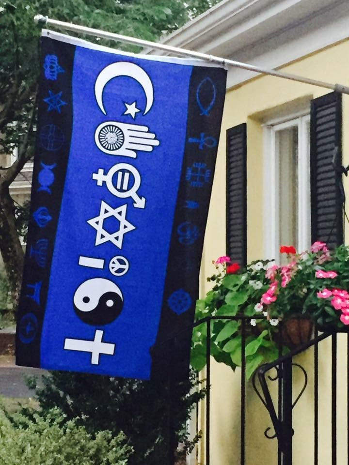 Coexist flag wellesley