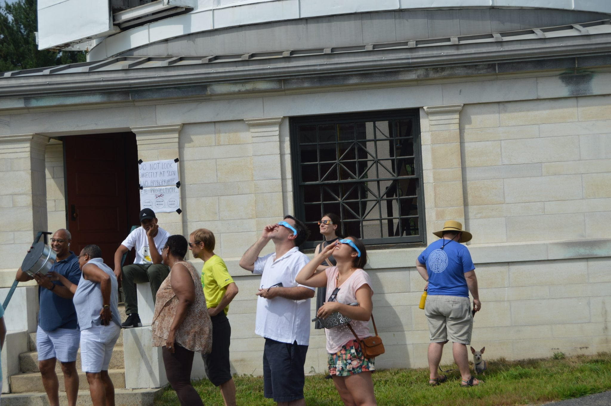 Whitin Observatory Wellesley Eclipse