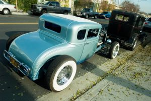 Highboy hot rod