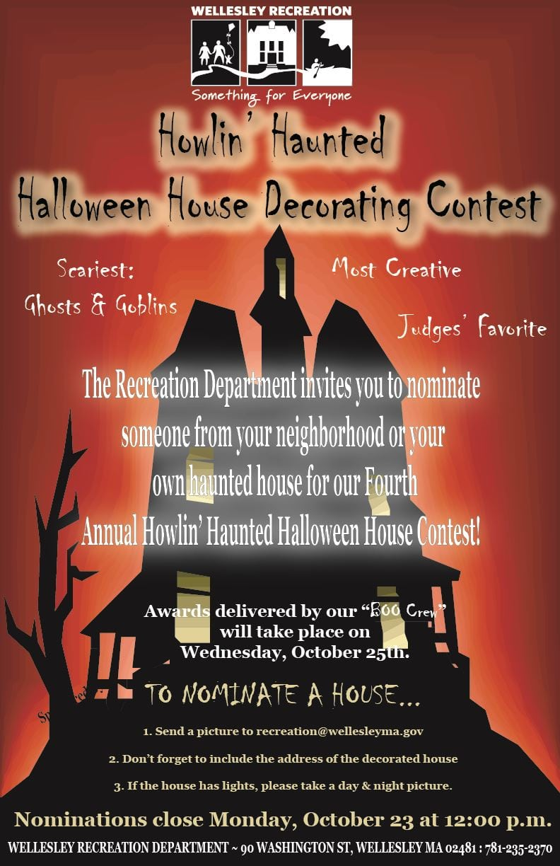 Halloween decorating contest