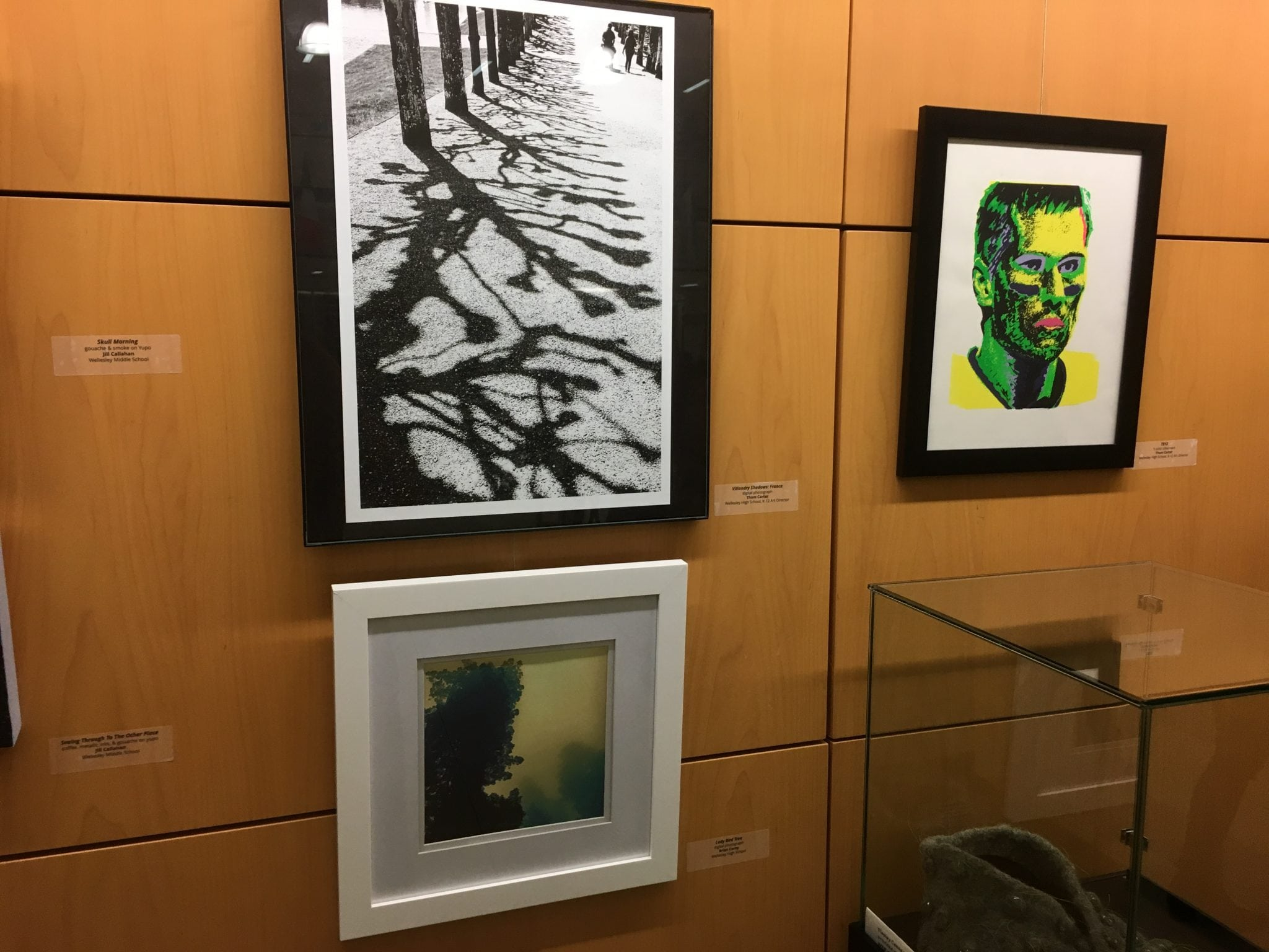 Wellesley High faculty art show