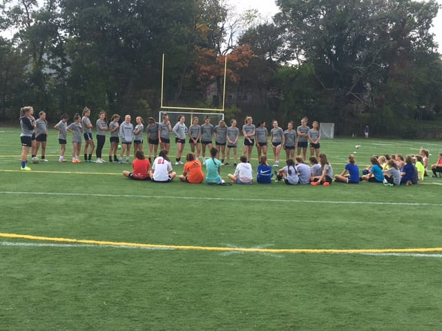 wellesley high soccer clinic