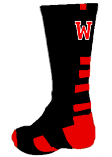Wellesley Raiders sock