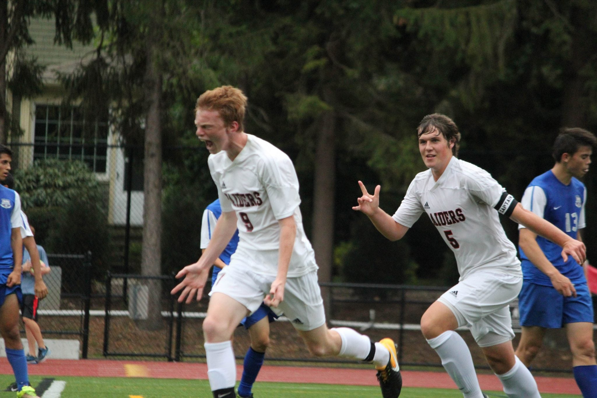 Wellesley High boys soccer