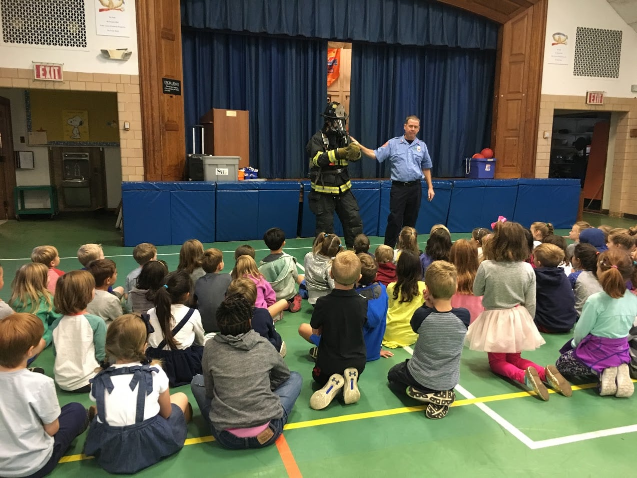 Wellesley fire lessons at school