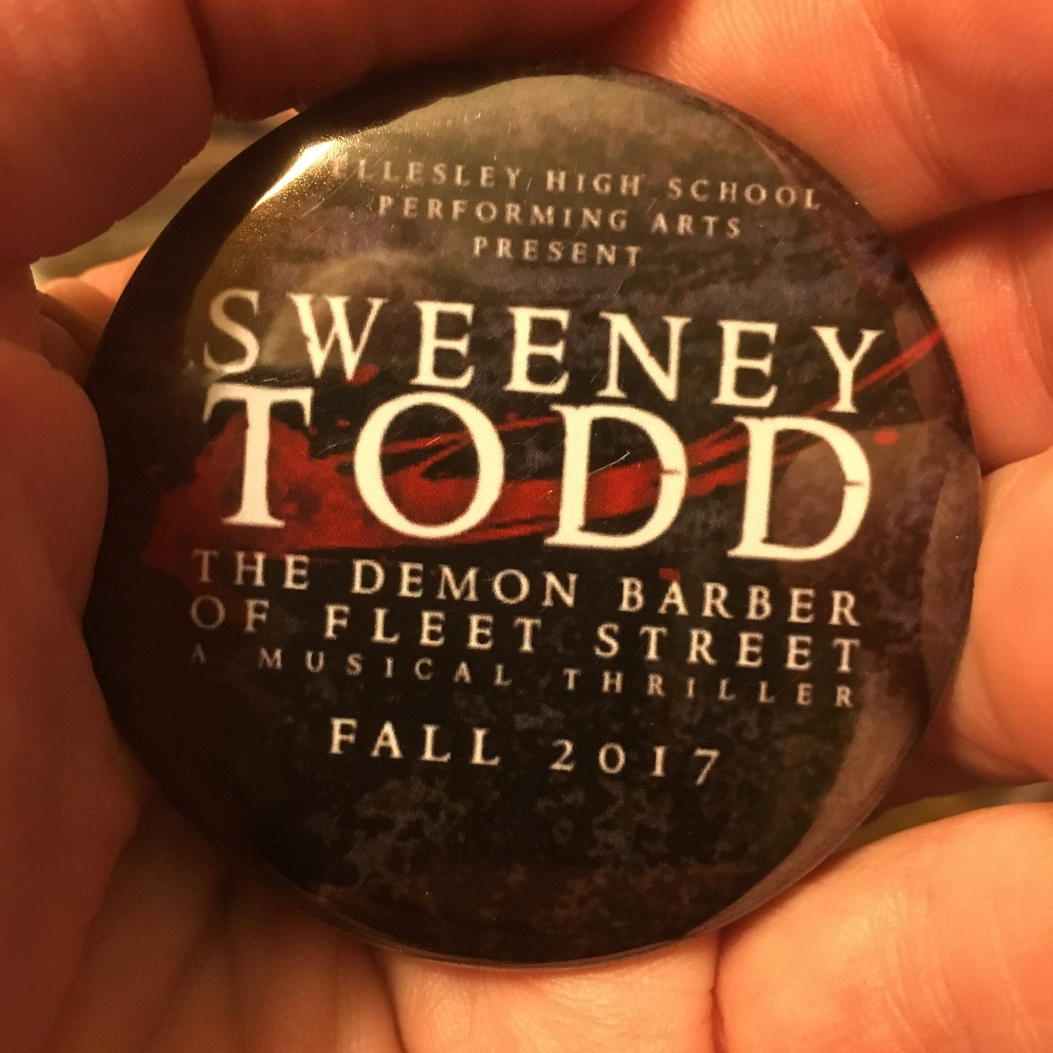 Wellesley High's Sweeney Todd