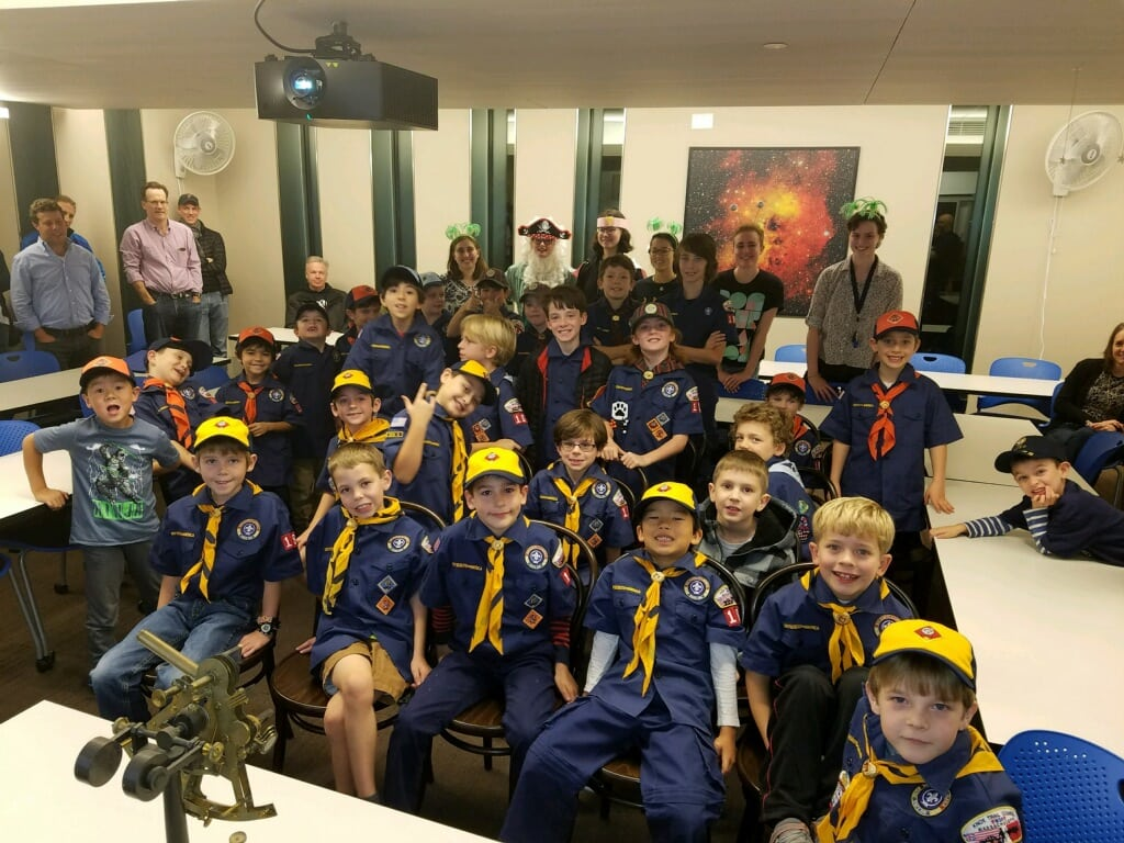 wellesley cub scouts, westin observatory