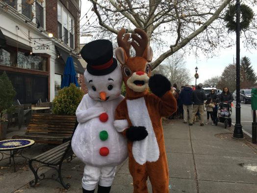 Wellesley Square Holiday Stroll, 2017