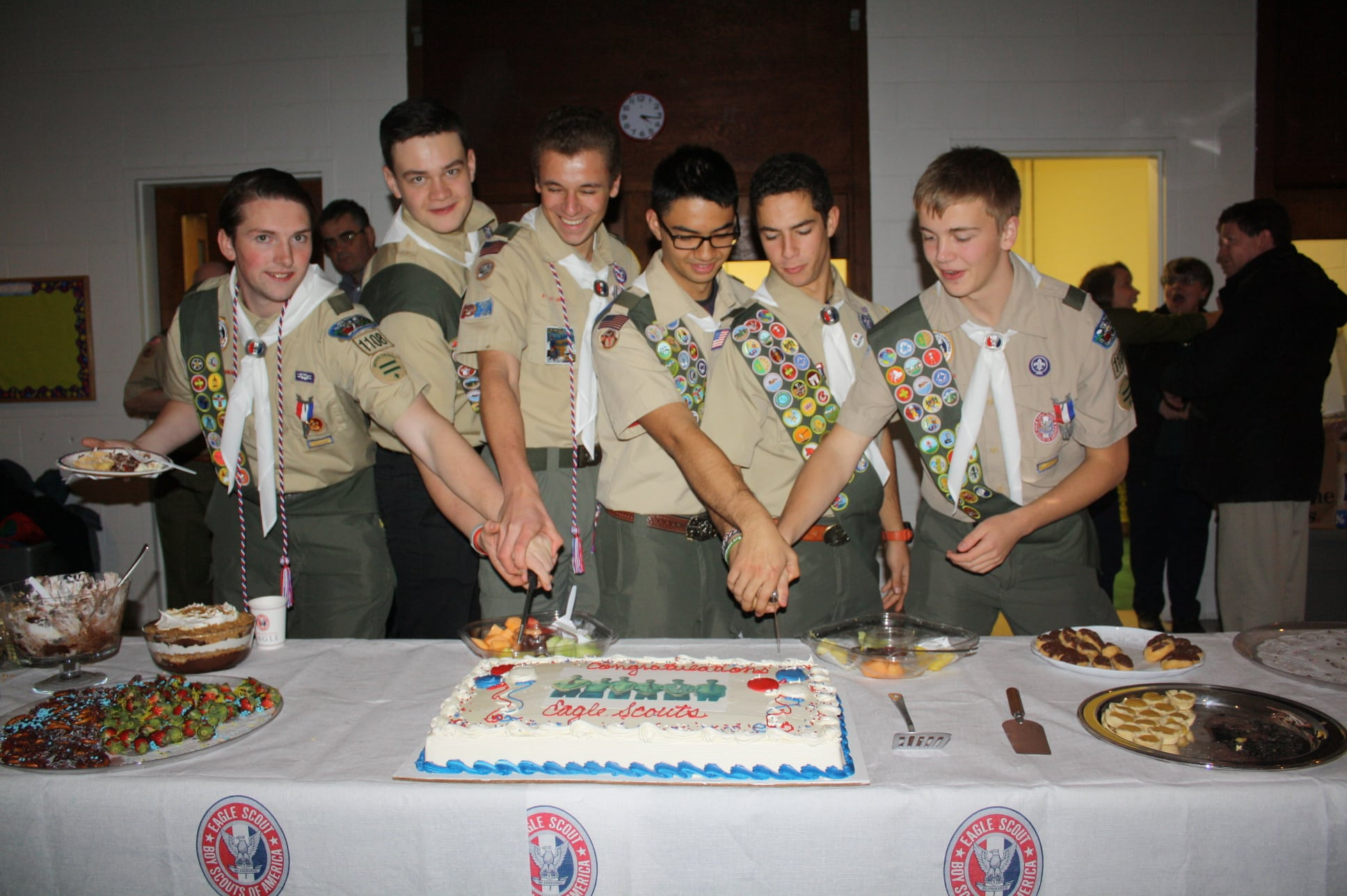 Troop 185 Eagle Scouts
