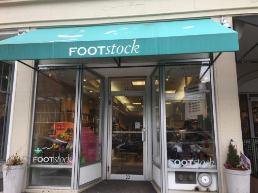 Wellesley Footstock