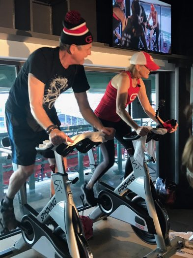 Bill Pryor and Alex Klemmer, owners of Wellesley CycleBar