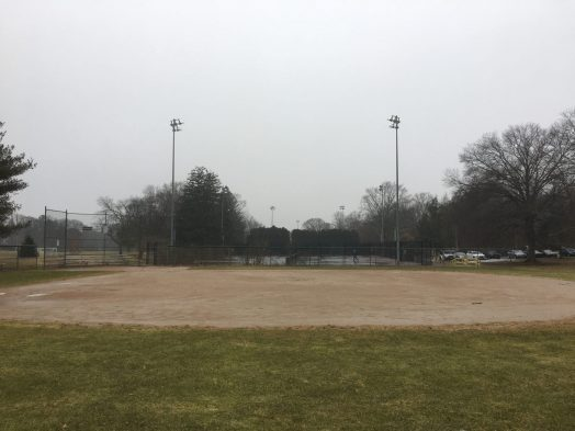 Lee softball field, Wellesley