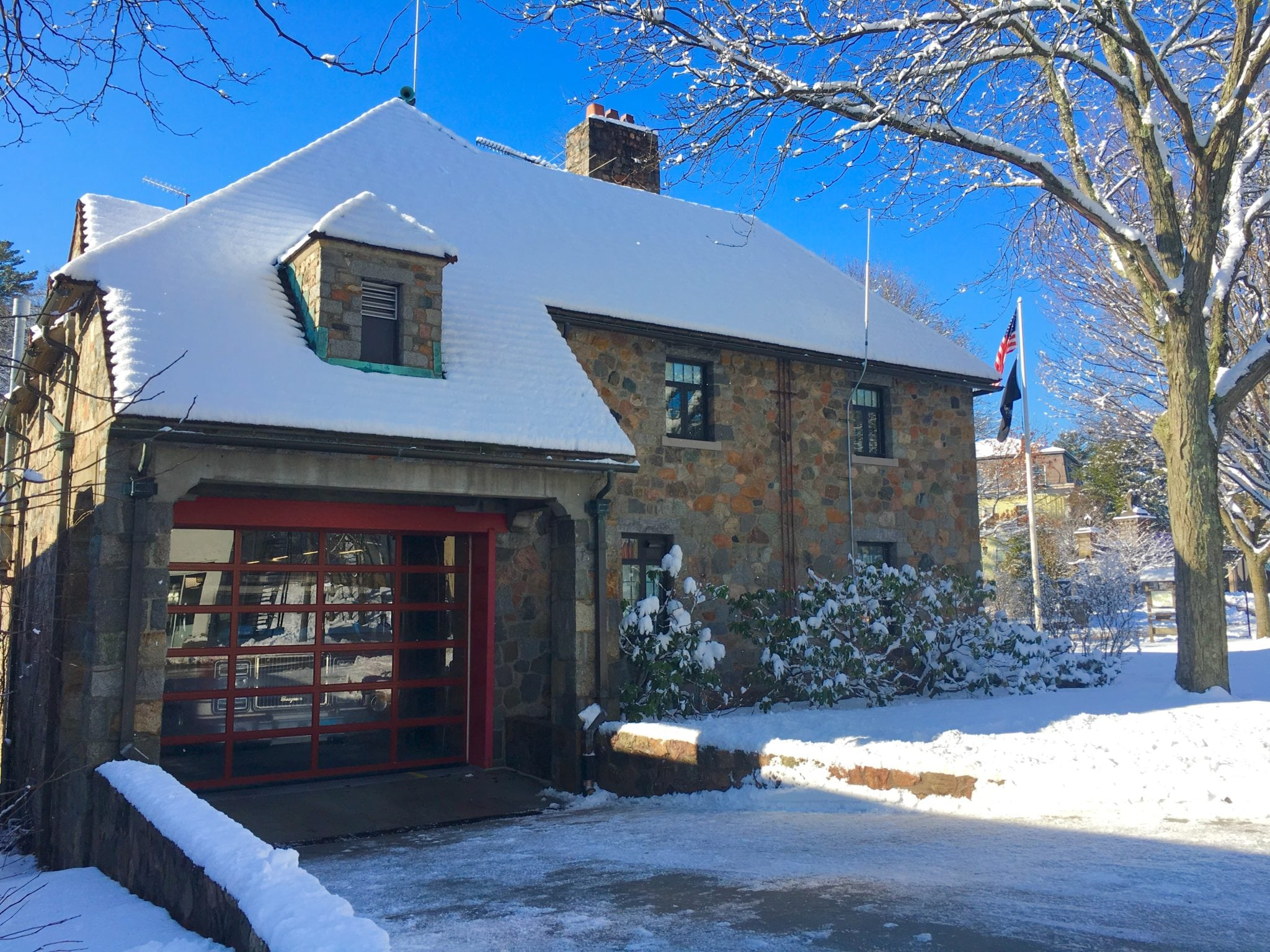 Fire Department, Wellesley Square