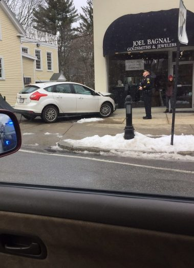 Wellesley Square car crash