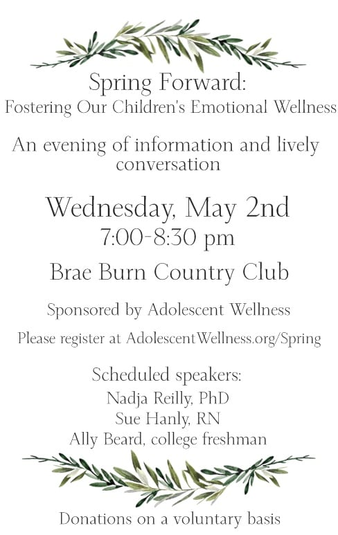 emotional wellness event