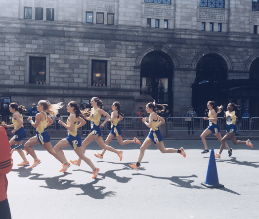 BAA Scholastic Mile, wellesley runners