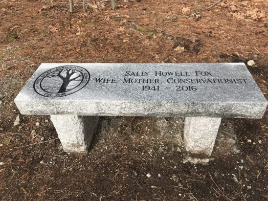 Wellesley Pickle Point bench