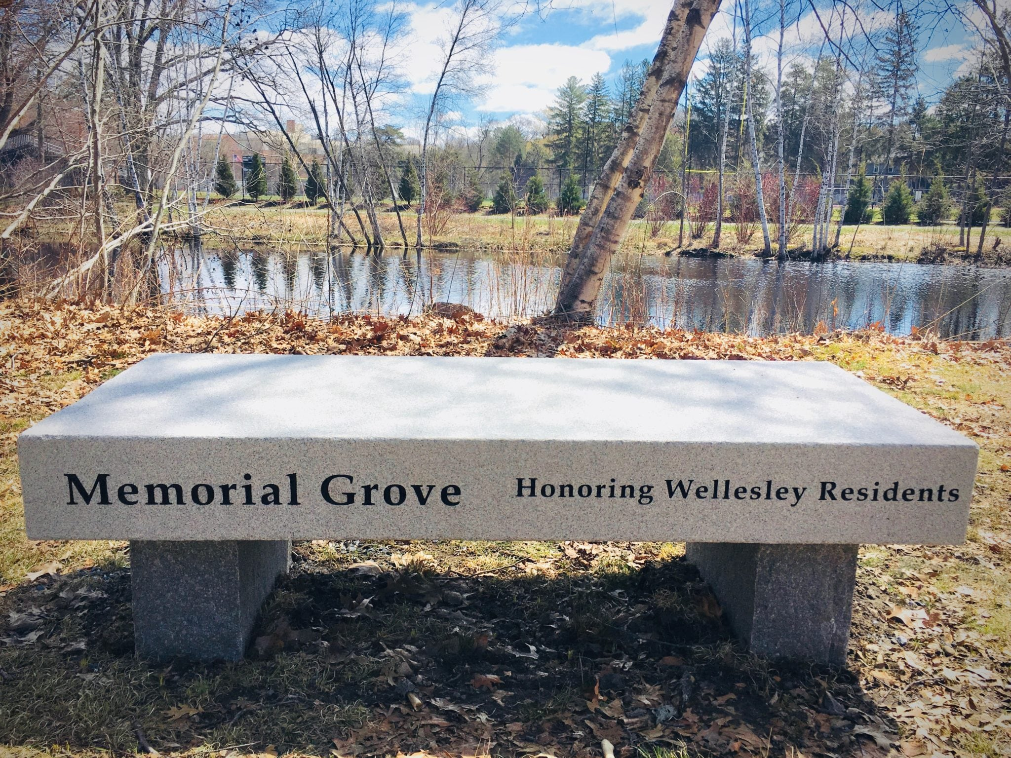 Memorial Grove, Wellesley
