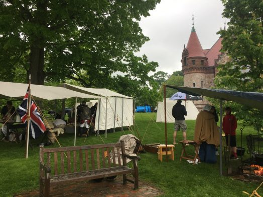 Encampment at Wellesley Town Hall