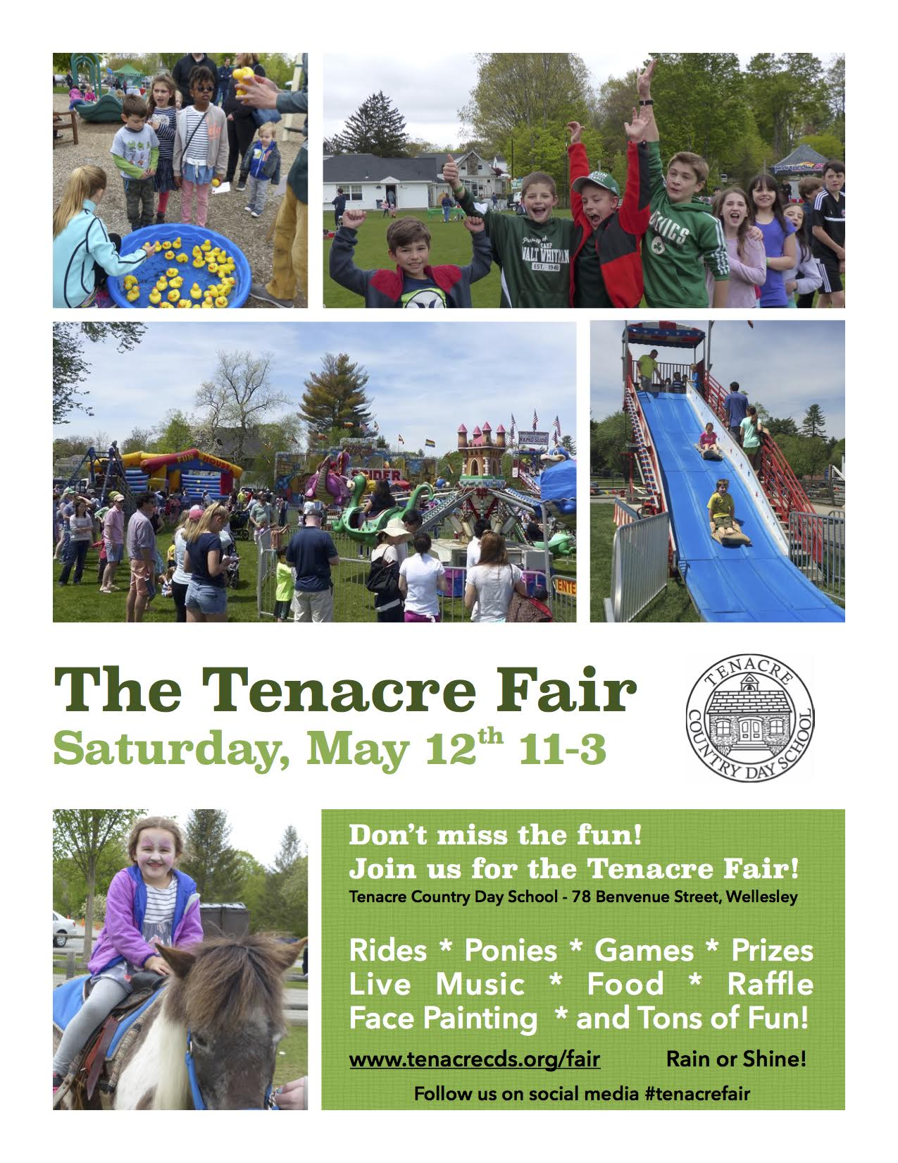 The Tenacre Fair, Wellesley