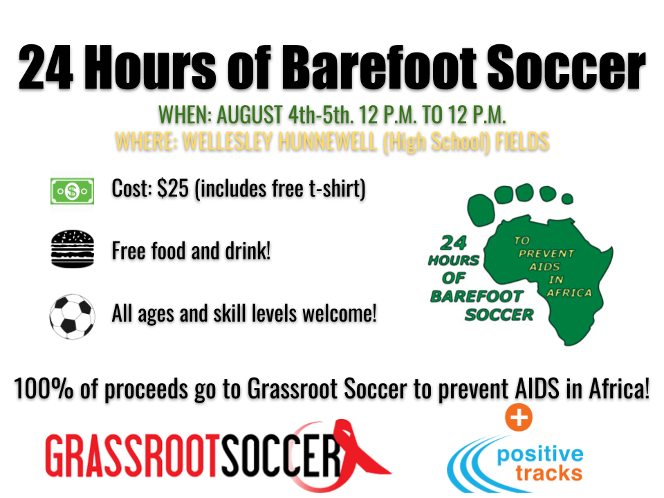 Wellesley Barefoot Soccer Flyer 2018