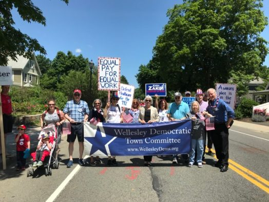 parade wellesley Democrats