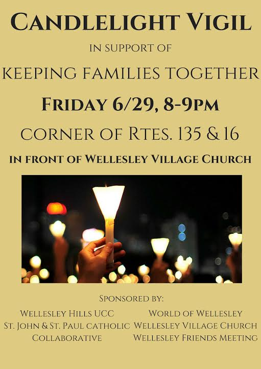 Candlelight vigil, Wellesley