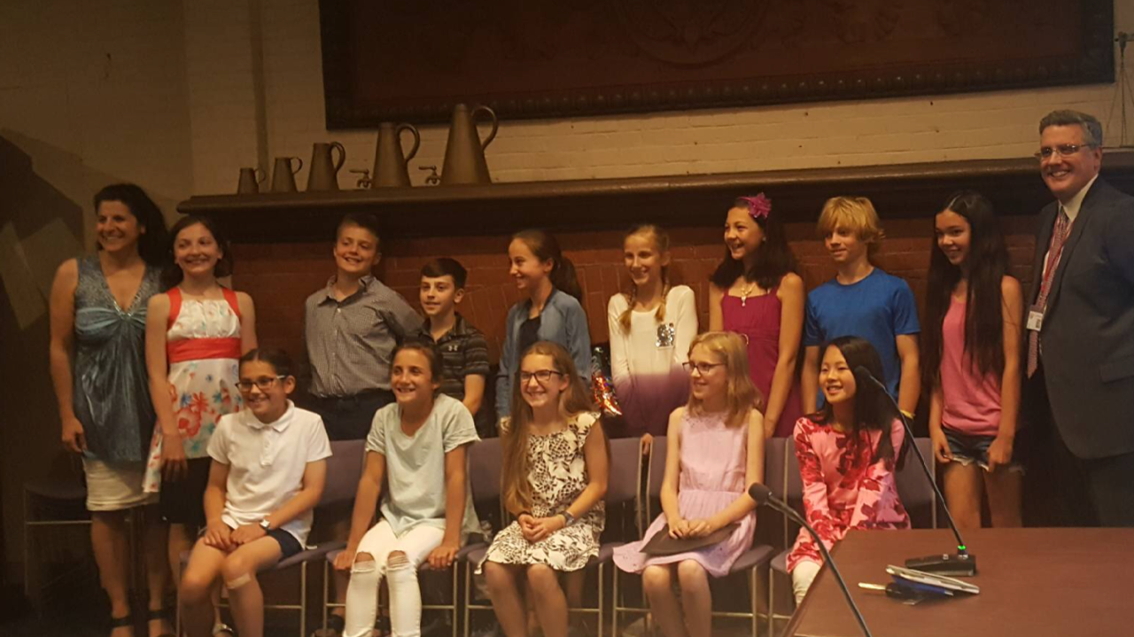 World of Wellesley, 5th graders, diversity