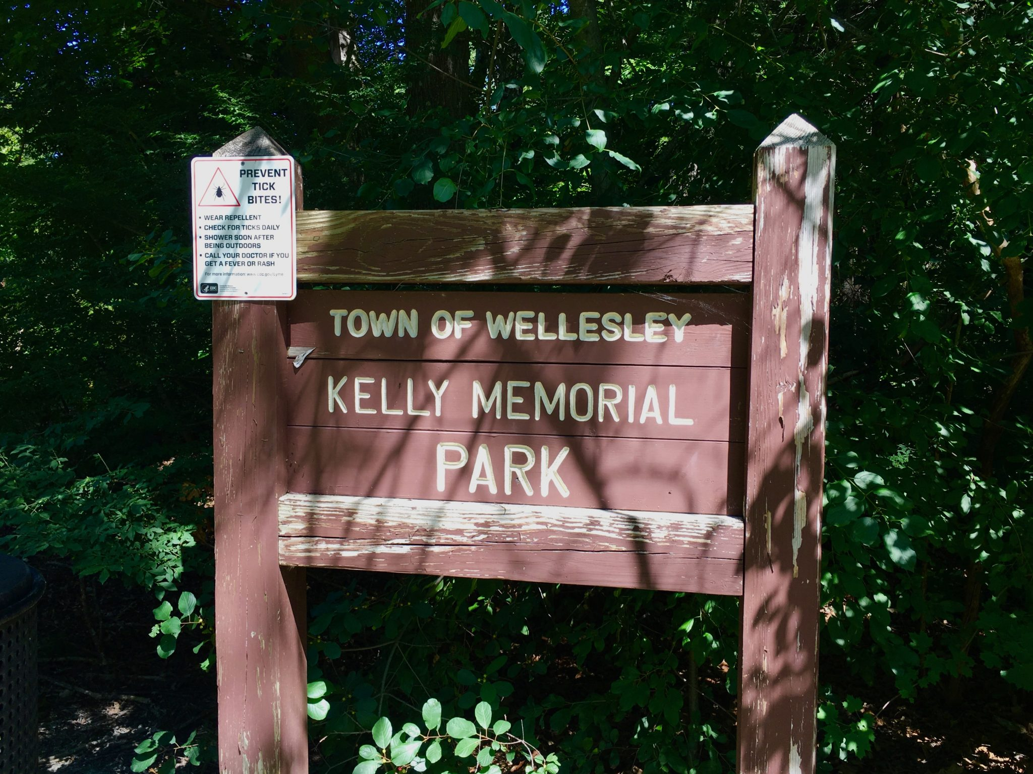 Kelly Memorial Park, Wellesley