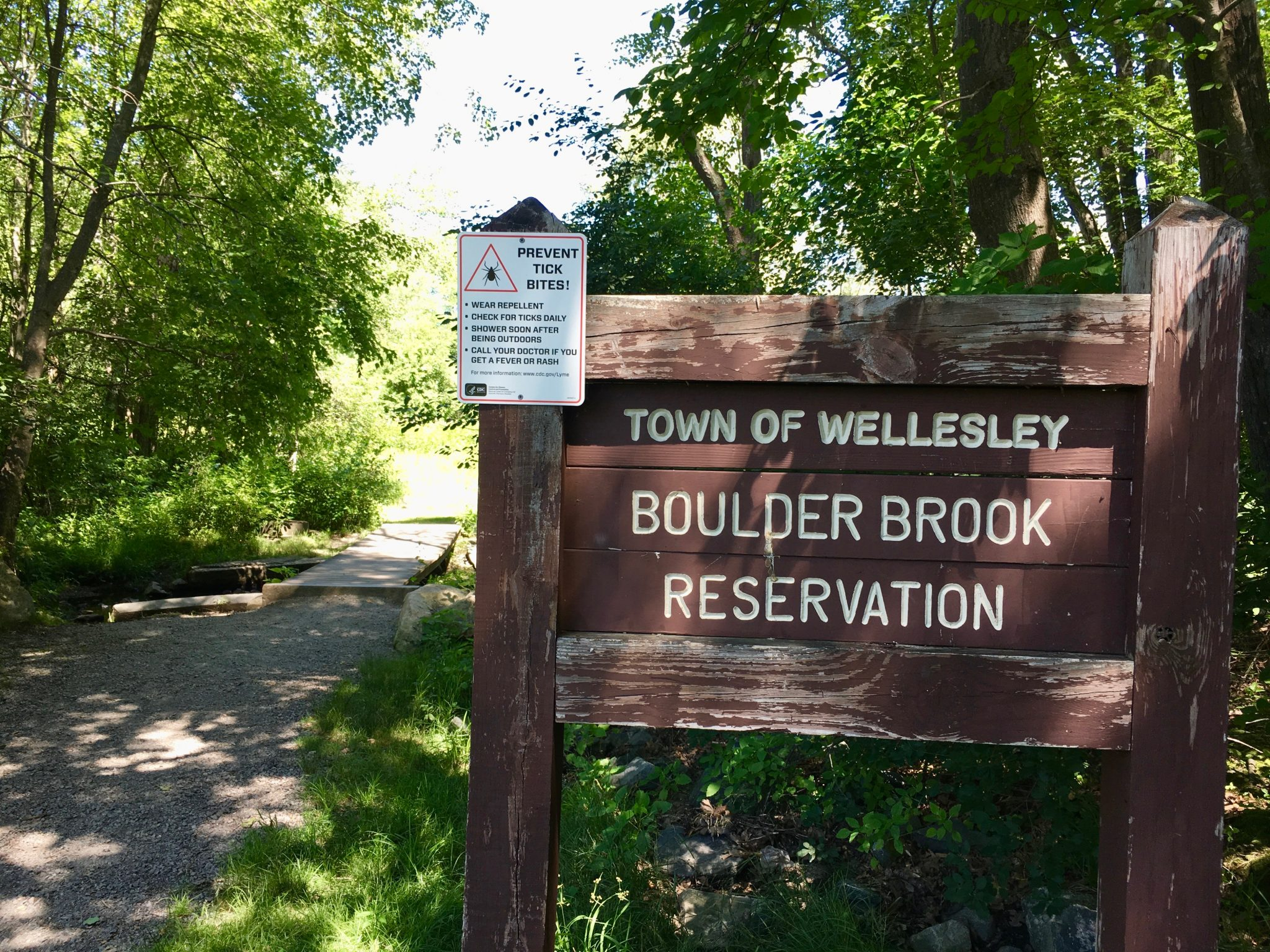 Boulder Brook Reservation, Wellesley