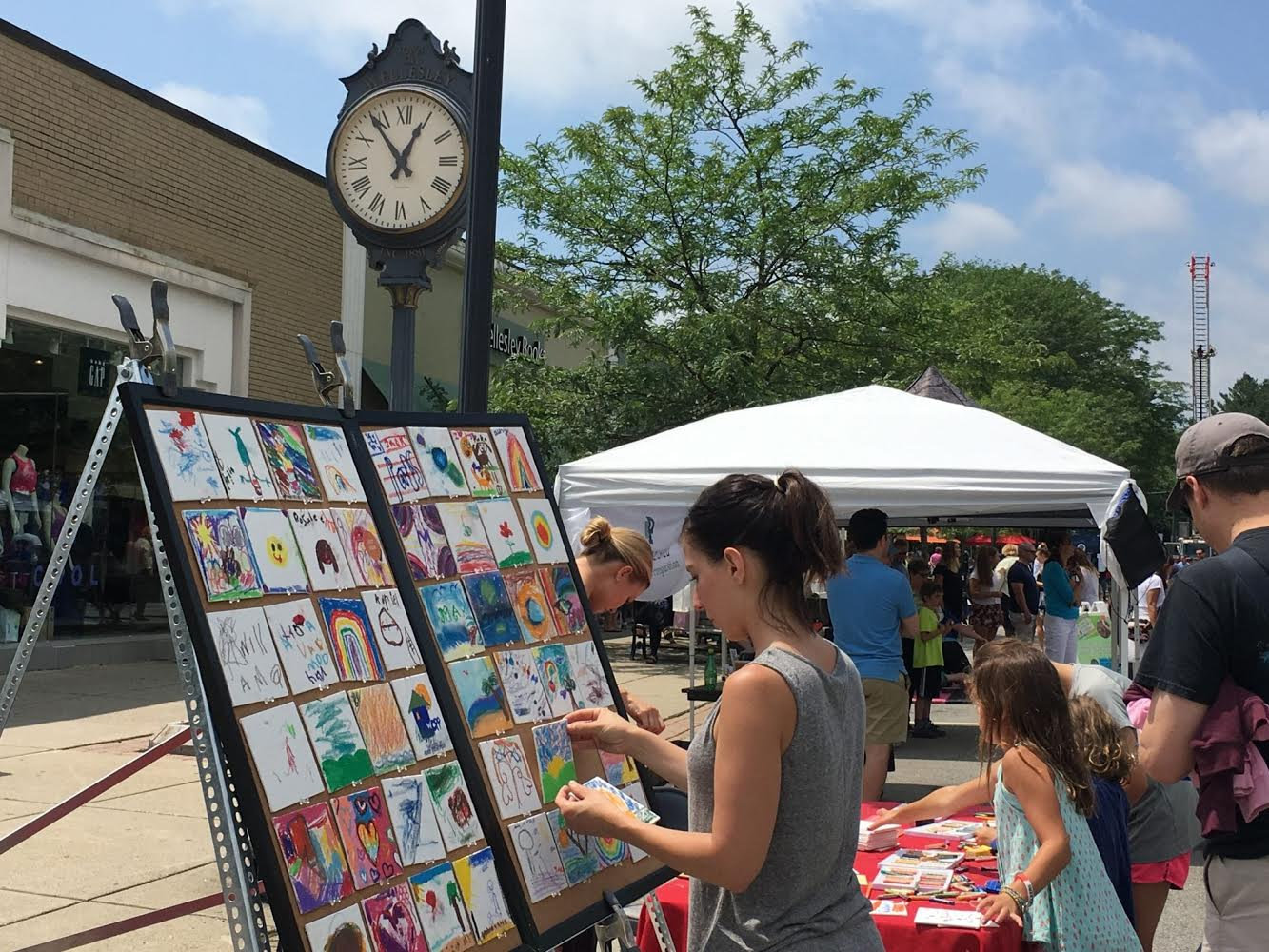 Wellesley Square, July Jubilation Sidewalk Sale