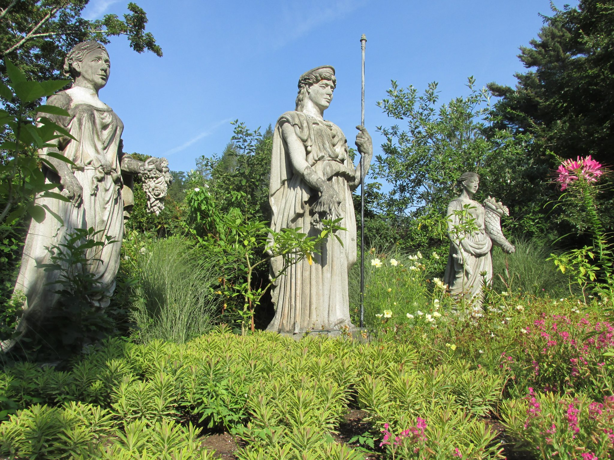 Goddess Garden at Elm Bank