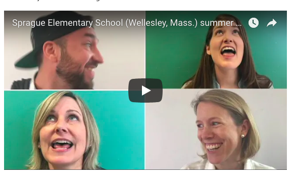 Wellesley Sprague School video
