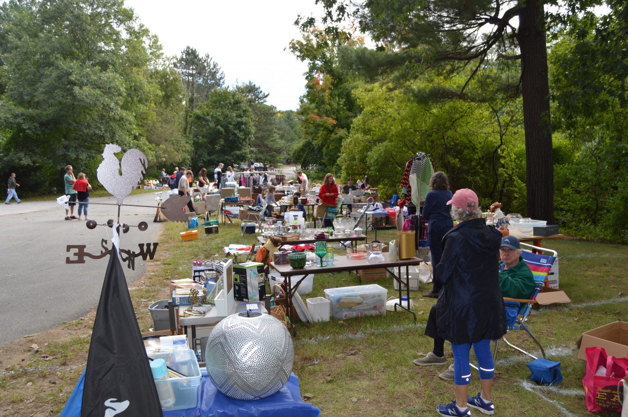 Wellesley, Morses Pond Yard Sale