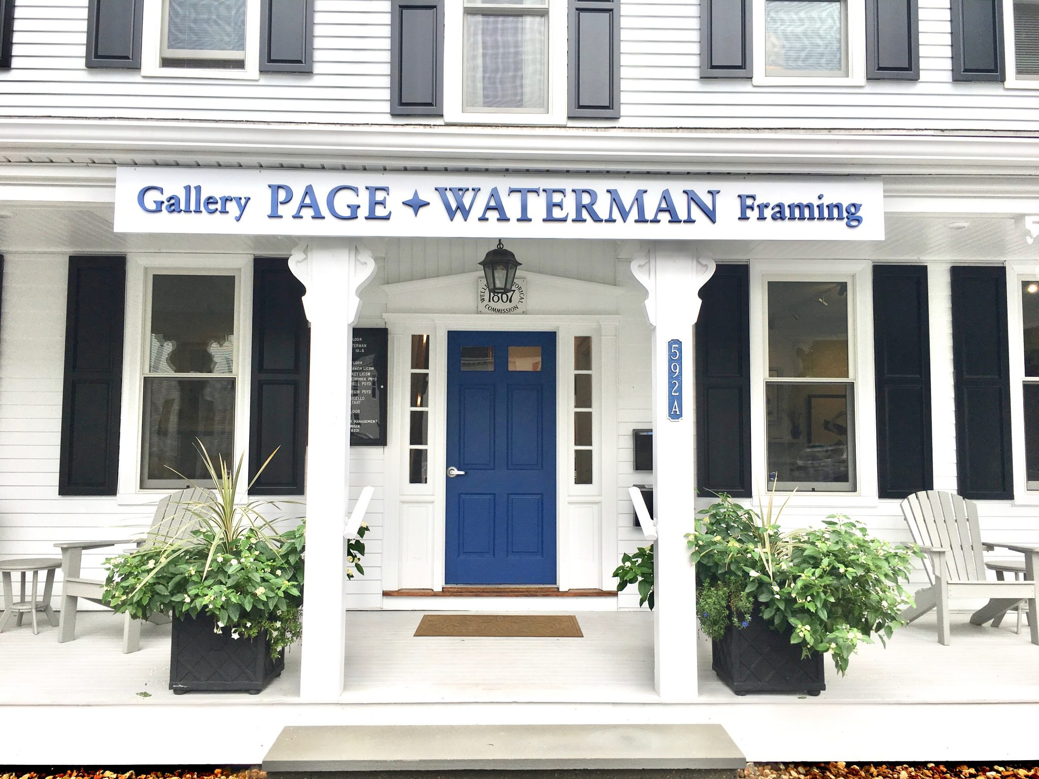 Page Waterman Gallery, Wellesley