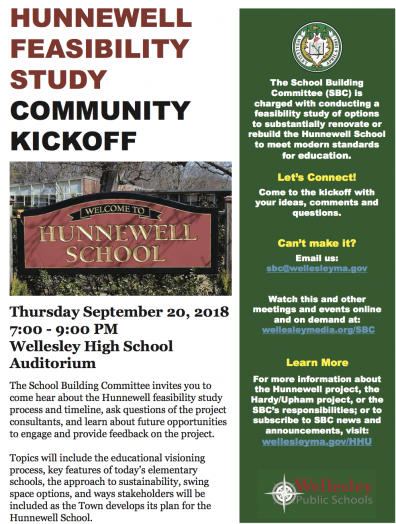 Hunnewell School forum
