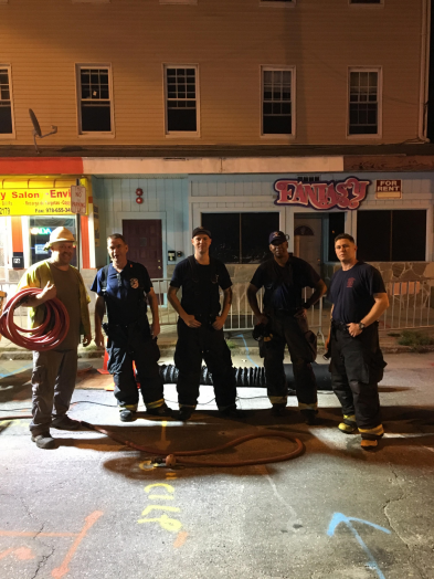 wellesley firefighters in lawrence