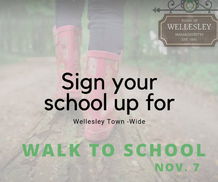 Wellesley Walk to School Day