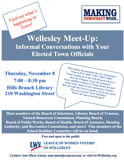 meet Wellesley elected town officials